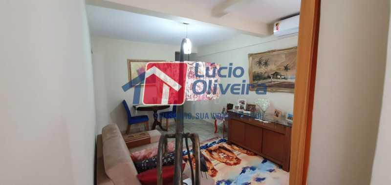 2-sala - Apartamento à venda Rua Nossa Senhora de Lourdes,Grajaú, Rio de Janeiro - R$ 410.000 - VPAP21565 - 3