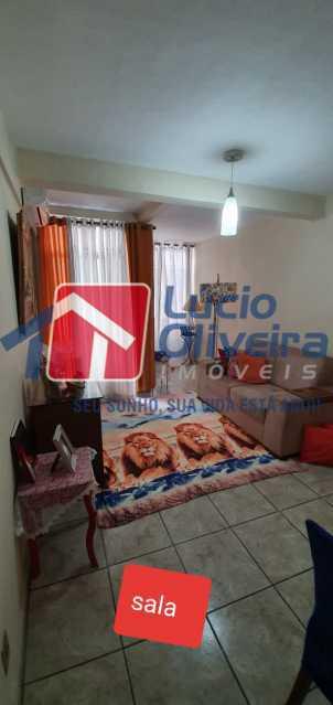 3-sala - Apartamento à venda Rua Nossa Senhora de Lourdes,Grajaú, Rio de Janeiro - R$ 410.000 - VPAP21565 - 4