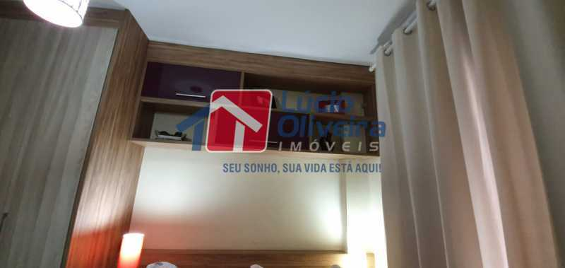 9-quarto - Apartamento à venda Rua Nossa Senhora de Lourdes,Grajaú, Rio de Janeiro - R$ 410.000 - VPAP21565 - 10