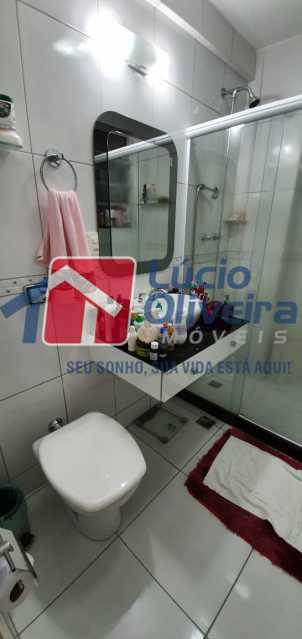 12-banheiro - Apartamento à venda Rua Nossa Senhora de Lourdes,Grajaú, Rio de Janeiro - R$ 410.000 - VPAP21565 - 13