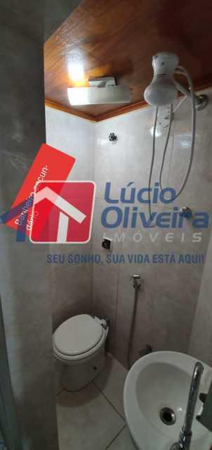 14-banheiro - Apartamento à venda Rua Nossa Senhora de Lourdes,Grajaú, Rio de Janeiro - R$ 410.000 - VPAP21565 - 15