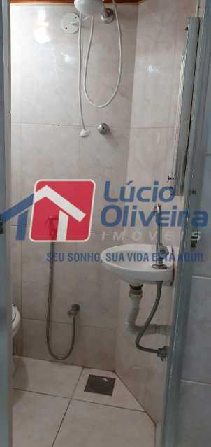 15-banheiro - Apartamento à venda Rua Nossa Senhora de Lourdes,Grajaú, Rio de Janeiro - R$ 410.000 - VPAP21565 - 16