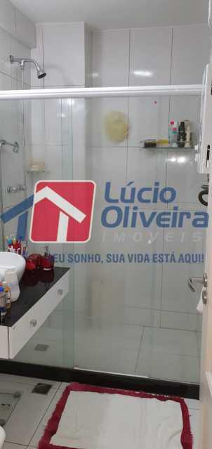 16-banheiro - Apartamento à venda Rua Nossa Senhora de Lourdes,Grajaú, Rio de Janeiro - R$ 410.000 - VPAP21565 - 17