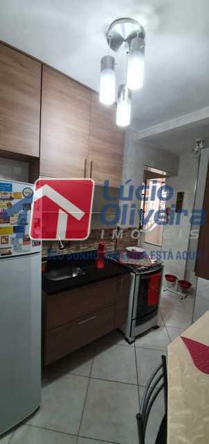 17-cozinha - Apartamento à venda Rua Nossa Senhora de Lourdes,Grajaú, Rio de Janeiro - R$ 410.000 - VPAP21565 - 18