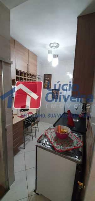 18-cozinha - Apartamento à venda Rua Nossa Senhora de Lourdes,Grajaú, Rio de Janeiro - R$ 410.000 - VPAP21565 - 19