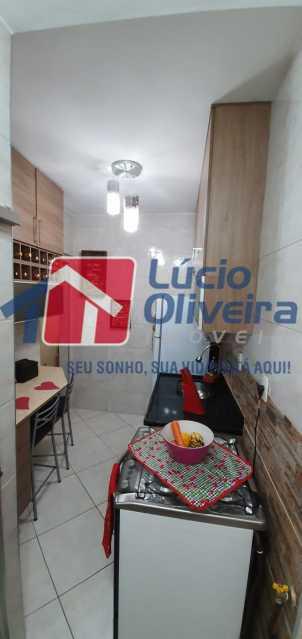 19-cozinha - Apartamento à venda Rua Nossa Senhora de Lourdes,Grajaú, Rio de Janeiro - R$ 410.000 - VPAP21565 - 20