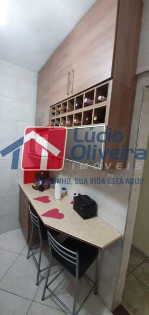 22-cozinha - Apartamento à venda Rua Nossa Senhora de Lourdes,Grajaú, Rio de Janeiro - R$ 410.000 - VPAP21565 - 23