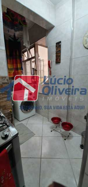 25-area de servico - Apartamento à venda Rua Nossa Senhora de Lourdes,Grajaú, Rio de Janeiro - R$ 410.000 - VPAP21565 - 26