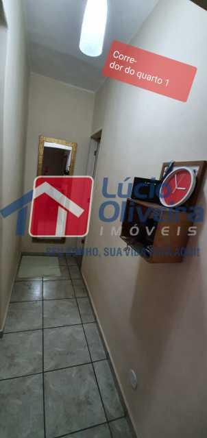 26-corredor - Apartamento à venda Rua Nossa Senhora de Lourdes,Grajaú, Rio de Janeiro - R$ 410.000 - VPAP21565 - 27