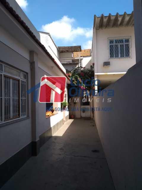 1 LATERAL DA CASA. - Casa à venda Rua João Silva,Olaria, Rio de Janeiro - R$ 600.000 - VPCA30216 - 1