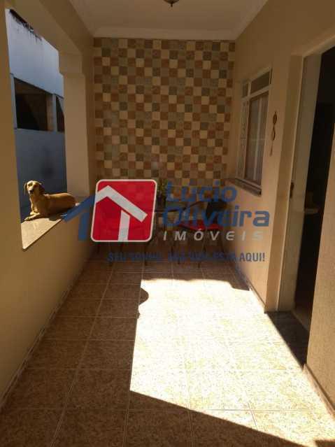 3 VARANDA. - Casa à venda Rua João Silva,Olaria, Rio de Janeiro - R$ 600.000 - VPCA30216 - 4