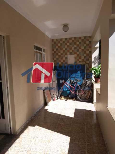 3,2 Varanda, entrada da sala - Casa à venda Rua João Silva,Olaria, Rio de Janeiro - R$ 600.000 - VPCA30216 - 5