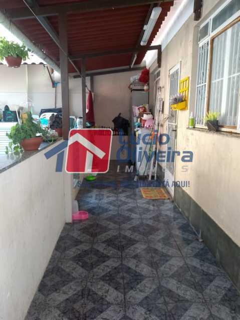 16 VARANDA FUNDOS. - Casa à venda Rua João Silva,Olaria, Rio de Janeiro - R$ 600.000 - VPCA30216 - 26