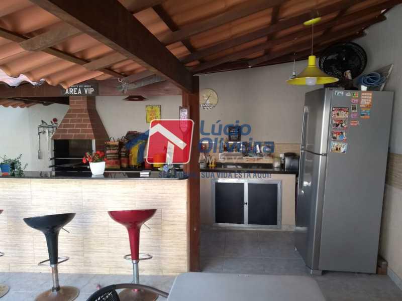 18 AREA GOURMET. - Casa à venda Rua João Silva,Olaria, Rio de Janeiro - R$ 600.000 - VPCA30216 - 28