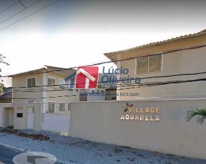 3-Frente Condominio - Apartamento à venda Rua Euzebio de Almeida,Jardim Sulacap, Rio de Janeiro - R$ 235.000 - VPAP21569 - 4