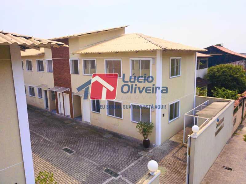 10-Vista Lateral condominio - Apartamento à venda Rua Euzebio de Almeida,Jardim Sulacap, Rio de Janeiro - R$ 235.000 - VPAP21569 - 11