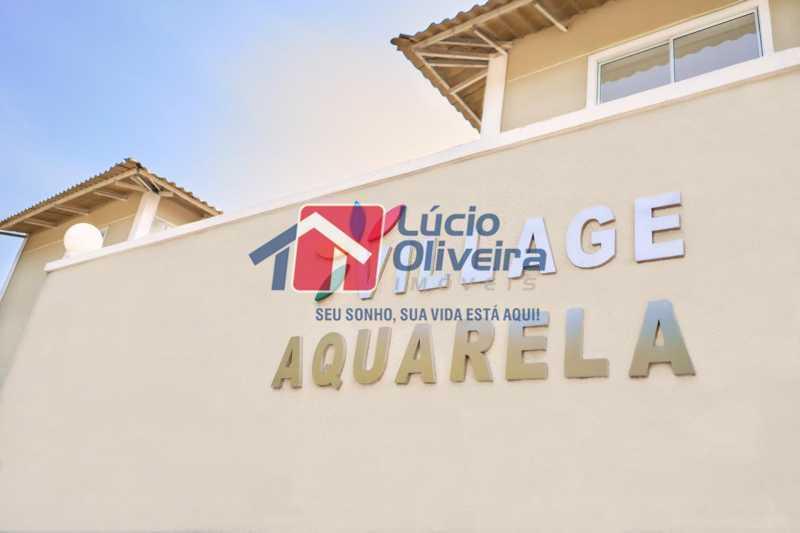 2-Fachada externa condiminio - Apartamento à venda Rua Euzebio de Almeida,Jardim Sulacap, Rio de Janeiro - R$ 320.000 - VPAP30393 - 3