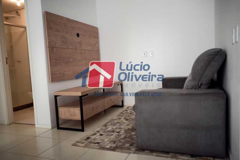 4-Sala ambiente - Apartamento à venda Rua Euzebio de Almeida,Jardim Sulacap, Rio de Janeiro - R$ 320.000 - VPAP30393 - 5