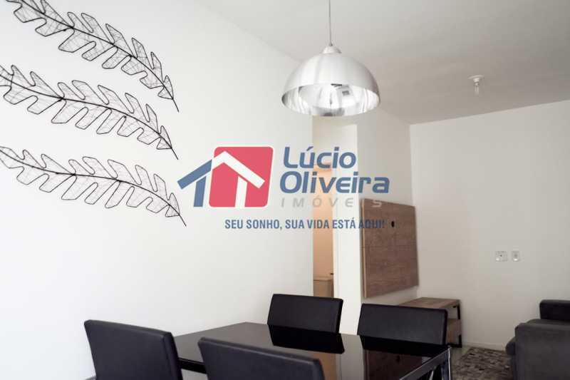 5-Sala ambiente - Apartamento à venda Rua Euzebio de Almeida,Jardim Sulacap, Rio de Janeiro - R$ 320.000 - VPAP30393 - 6