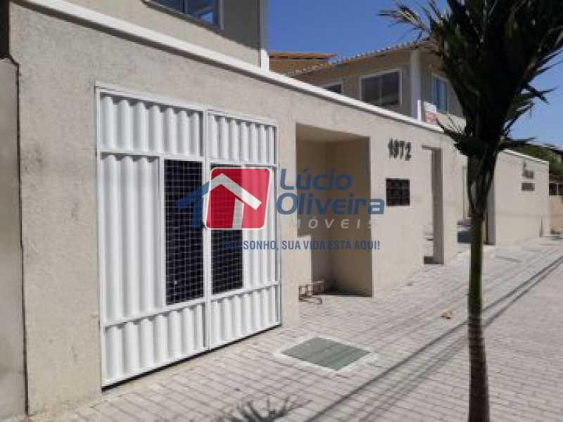 14-Frente garagem - Apartamento à venda Rua Euzebio de Almeida,Jardim Sulacap, Rio de Janeiro - R$ 320.000 - VPAP30393 - 15