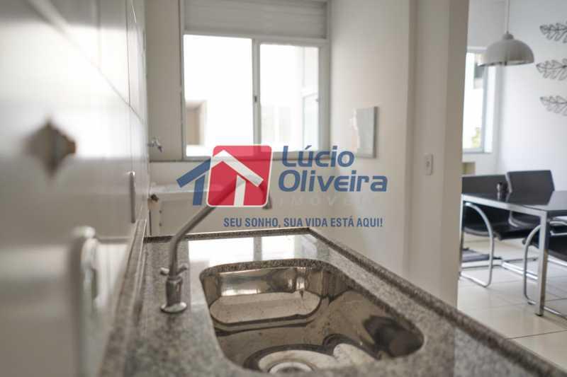8-Cozinha - Apartamento à venda Rua Euzebio de Almeida,Jardim Sulacap, Rio de Janeiro - R$ 270.000 - VPAP21570 - 9