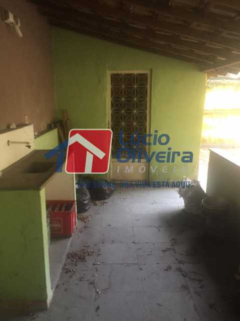 24-AREA COBERTA FUNDOS - Casa à venda Estrada Coronel Vieira,Irajá, Rio de Janeiro - R$ 750.000 - VPCA40067 - 26