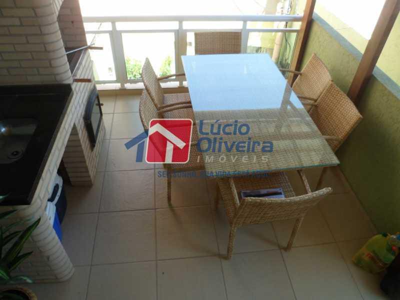 Terraço Churrasqueira - Casa à venda Rua João Pinheiro,Piedade, Rio de Janeiro - R$ 220.000 - VPCA20296 - 1