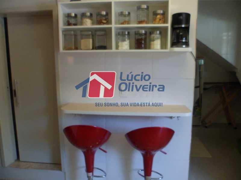mesa Sala - Casa à venda Rua João Pinheiro,Piedade, Rio de Janeiro - R$ 220.000 - VPCA20296 - 5