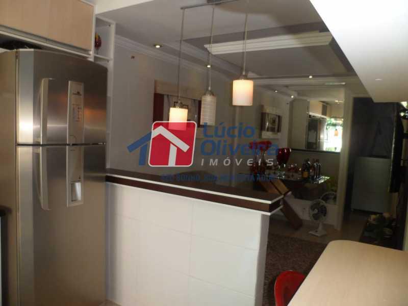 Sala/Cozinha americana - Casa à venda Rua João Pinheiro,Piedade, Rio de Janeiro - R$ 220.000 - VPCA20296 - 4