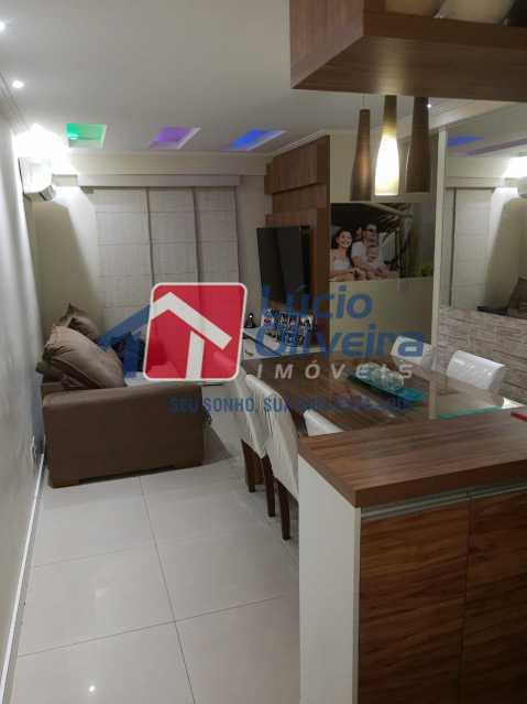 1-Sala ambiente 2 - Apartamento à venda Estrada Adhemar Bebiano,Del Castilho, Rio de Janeiro - R$ 370.000 - VPAP30396 - 1