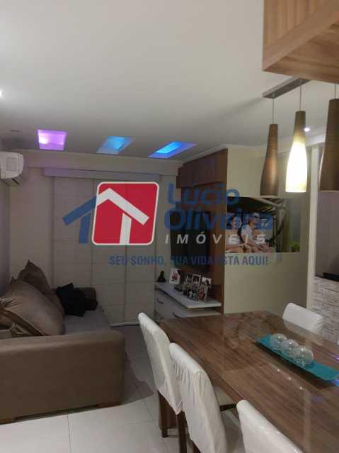 2-Sala jantar - Apartamento à venda Estrada Adhemar Bebiano,Del Castilho, Rio de Janeiro - R$ 370.000 - VPAP30396 - 3