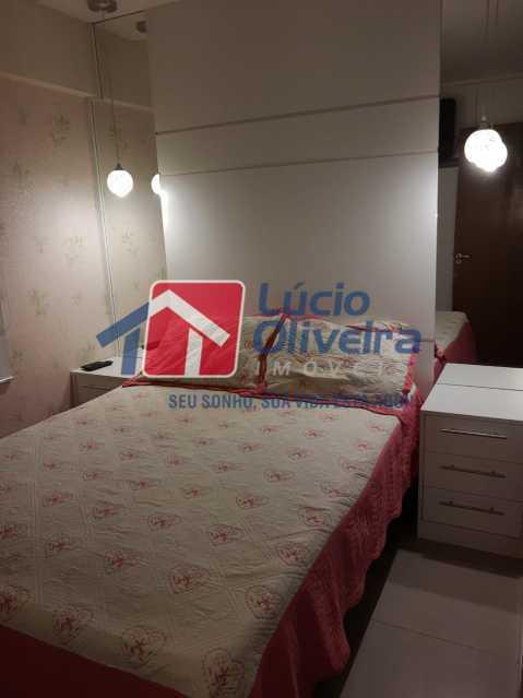 4-Quarto Casal 1 - Apartamento à venda Estrada Adhemar Bebiano,Del Castilho, Rio de Janeiro - R$ 370.000 - VPAP30396 - 5
