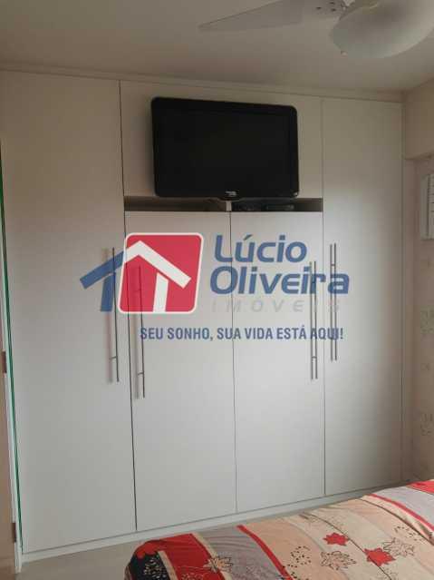 5-Quarto casal .... - Apartamento à venda Estrada Adhemar Bebiano,Del Castilho, Rio de Janeiro - R$ 370.000 - VPAP30396 - 6