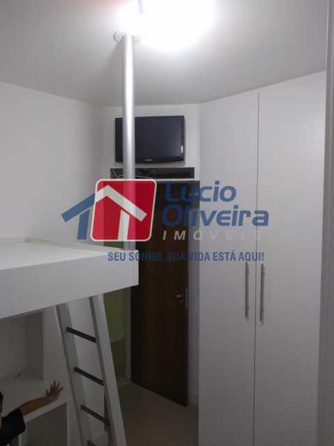 6-Quarto solteiro.... - Apartamento à venda Estrada Adhemar Bebiano,Del Castilho, Rio de Janeiro - R$ 370.000 - VPAP30396 - 7
