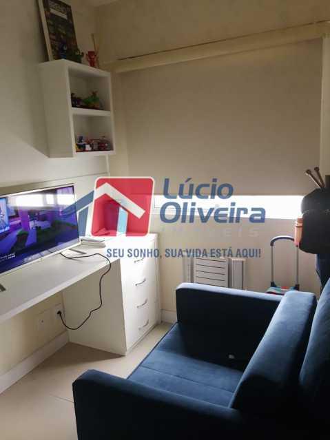 7-Quarto solteiro - Apartamento à venda Estrada Adhemar Bebiano,Del Castilho, Rio de Janeiro - R$ 370.000 - VPAP30396 - 8