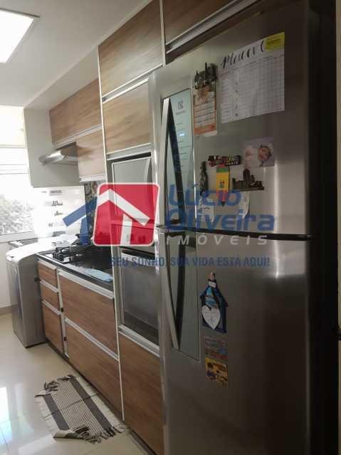 11-Cozinha planejada - Apartamento à venda Estrada Adhemar Bebiano,Del Castilho, Rio de Janeiro - R$ 370.000 - VPAP30396 - 12