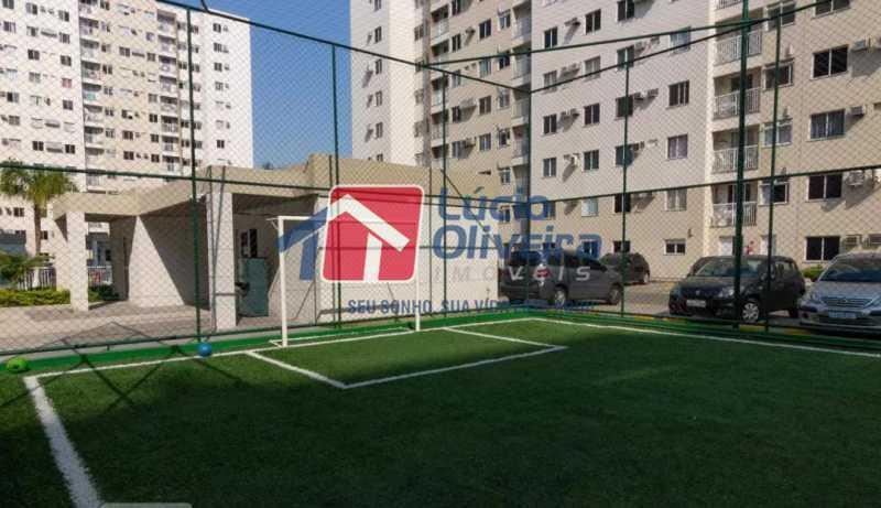 16-Quadra esportes 1 - Apartamento à venda Estrada Adhemar Bebiano,Del Castilho, Rio de Janeiro - R$ 370.000 - VPAP30396 - 16