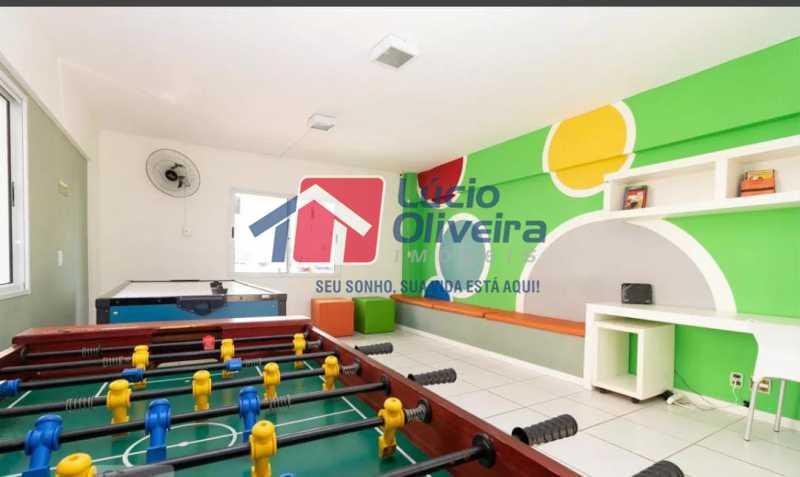 17-Salão jogos - Apartamento à venda Estrada Adhemar Bebiano,Del Castilho, Rio de Janeiro - R$ 370.000 - VPAP30396 - 17