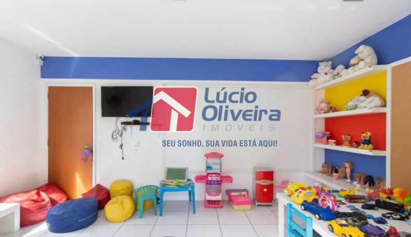 18-Brinquedoteca - Apartamento à venda Estrada Adhemar Bebiano,Del Castilho, Rio de Janeiro - R$ 370.000 - VPAP30396 - 18
