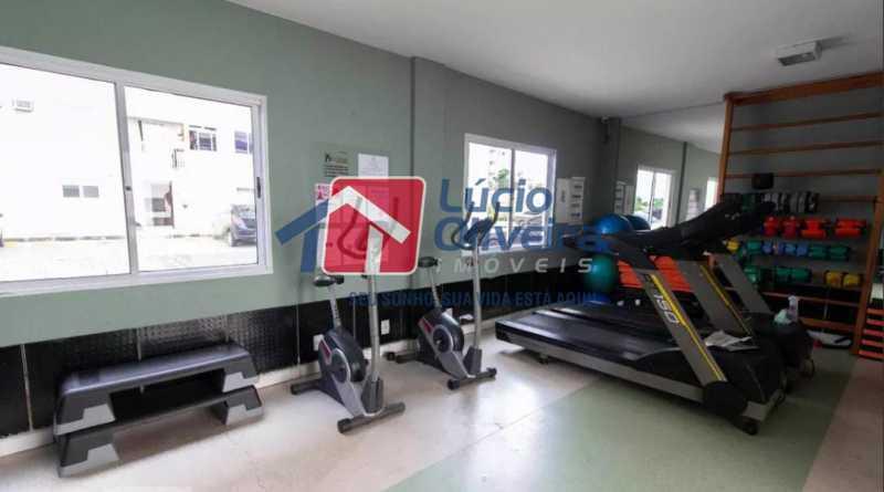 19-Academia - Apartamento à venda Estrada Adhemar Bebiano,Del Castilho, Rio de Janeiro - R$ 370.000 - VPAP30396 - 19