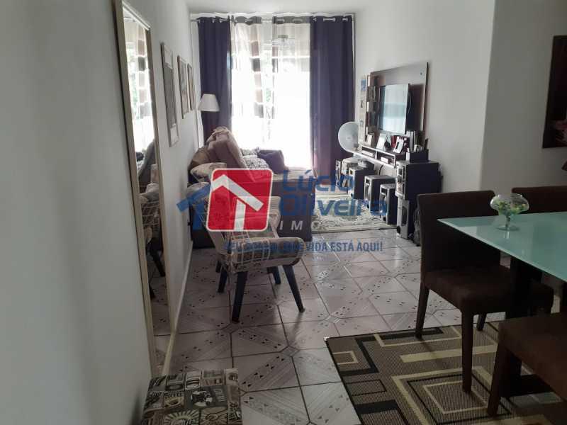 01- Sala - Apartamento à venda Rua Tomás Lópes,Vila da Penha, Rio de Janeiro - R$ 390.000 - VPAP21577 - 1