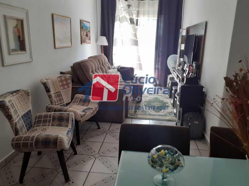 02- Sala - Apartamento à venda Rua Tomás Lópes,Vila da Penha, Rio de Janeiro - R$ 390.000 - VPAP21577 - 3