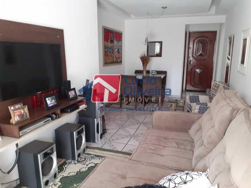 03- Sala - Apartamento à venda Rua Tomás Lópes,Vila da Penha, Rio de Janeiro - R$ 390.000 - VPAP21577 - 4