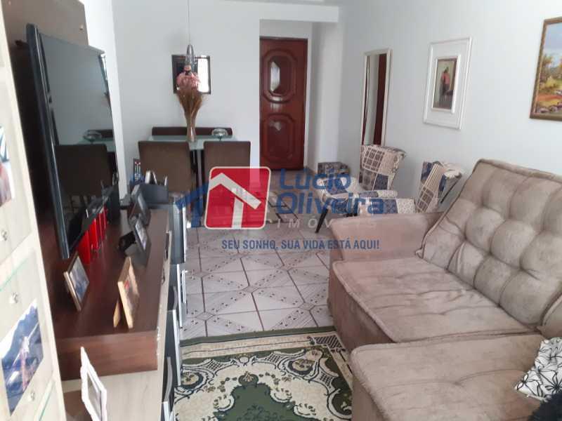 04- Sala - Apartamento à venda Rua Tomás Lópes,Vila da Penha, Rio de Janeiro - R$ 390.000 - VPAP21577 - 5