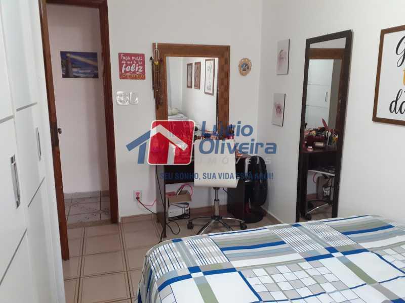 06- Quarto S.] - Apartamento à venda Rua Tomás Lópes,Vila da Penha, Rio de Janeiro - R$ 390.000 - VPAP21577 - 7