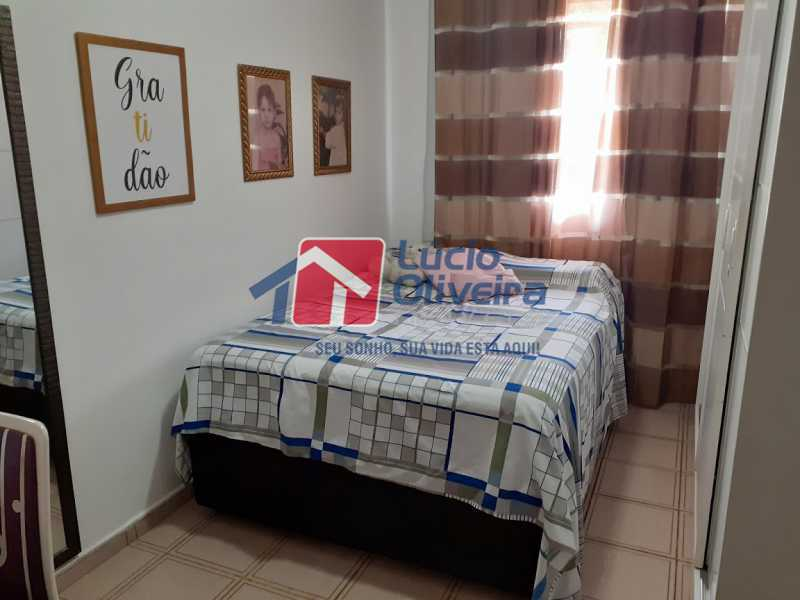 08- Quarto S. - Apartamento à venda Rua Tomás Lópes,Vila da Penha, Rio de Janeiro - R$ 390.000 - VPAP21577 - 9