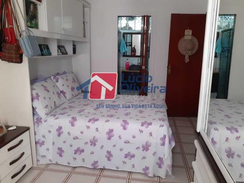 09- Quarto C. - Apartamento à venda Rua Tomás Lópes,Vila da Penha, Rio de Janeiro - R$ 390.000 - VPAP21577 - 10