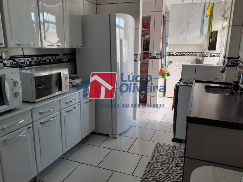 22- Cozinha - Apartamento à venda Rua Tomás Lópes,Vila da Penha, Rio de Janeiro - R$ 390.000 - VPAP21577 - 23