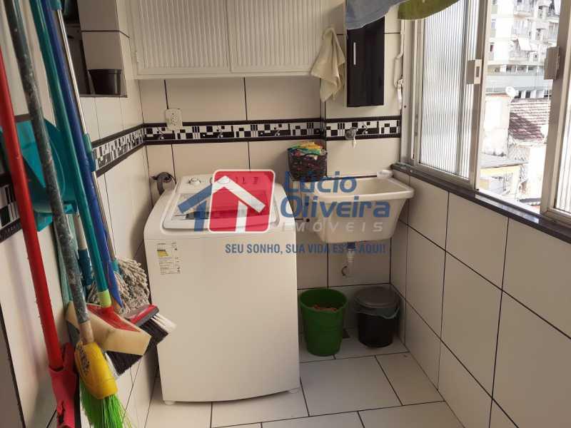 24- Area - Apartamento à venda Rua Tomás Lópes,Vila da Penha, Rio de Janeiro - R$ 390.000 - VPAP21577 - 25
