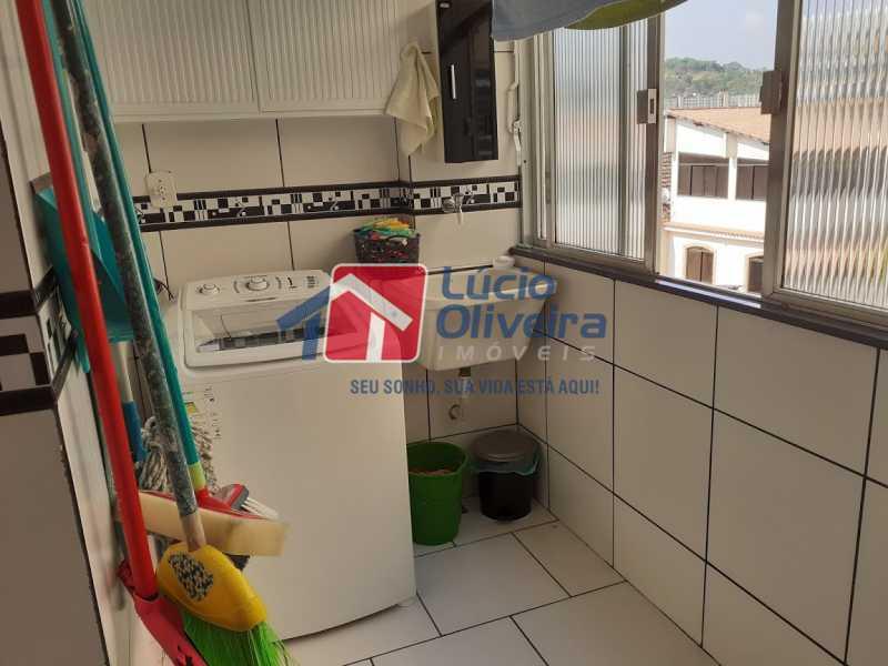 25- Area - Apartamento à venda Rua Tomás Lópes,Vila da Penha, Rio de Janeiro - R$ 390.000 - VPAP21577 - 26